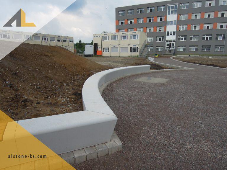 Beton-Sitzbankelemente-Halberstadt